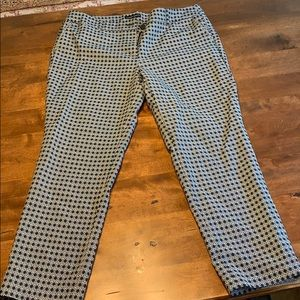 Ankle length pants size 12